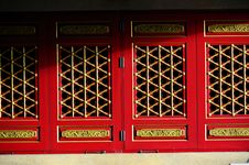 Free Chinese Door Stock Images - 18234164