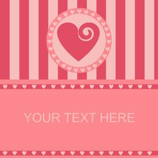 Free Cute Hearts Frame Stock Images - 18234864