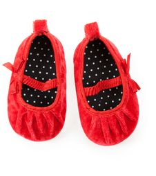 Red Baby Booties Royalty Free Stock Photos