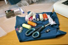 Free Sewing Accessories Stock Photography - 18235622