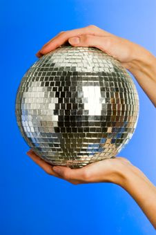 Free Mirror Ball Royalty Free Stock Image - 18235956
