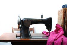 Free Vintage Sewing Machine Stock Image - 18236561