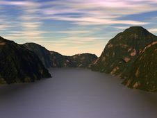 Free Mountain Lake Royalty Free Stock Image - 18237636