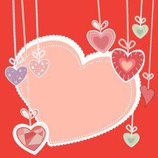 Free Love Card Royalty Free Stock Photo - 18237925