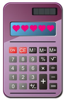 Free Calculator Royalty Free Stock Photography - 18238017