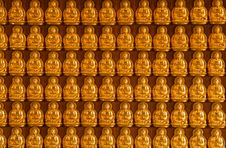 Free Buddha Temple Wall In Wat-Leng-Noei-Yi Stock Photography - 18238062