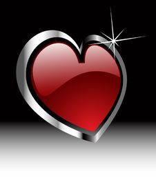 Free Vector Valentine S Hearts Royalty Free Stock Photography - 18238147