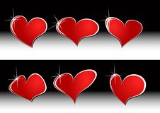 Free The  Red Heart Set Stock Photo - 18238240
