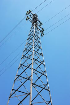Free Pylon In The Sky Stock Photography - 18238802