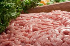 Free Chopped Meat Royalty Free Stock Photography - 18238817