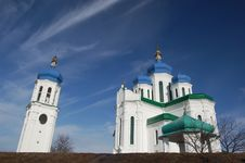 Russian Orthodox Church Stock Photo