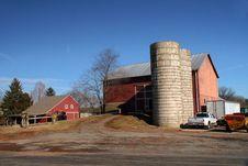 Free American Farm Royalty Free Stock Photography - 18239357