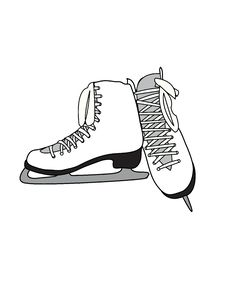 Free Figure Skates Royalty Free Stock Image - 18239456