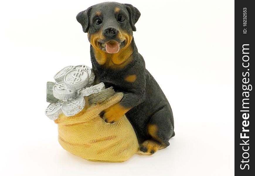 Money-box as a dog