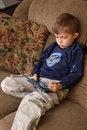 Free Boy Gamer Stock Image - 18242161