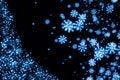 Free Snowflake Background Stock Photo - 18244370