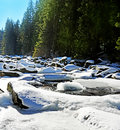 Free River In Winter Time Stock Photography - 18247282
