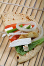 Free Cheese Wrap Filling Royalty Free Stock Photography - 18248767