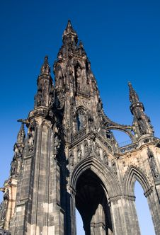 Free Scott Monument, Edinburgh Stock Photography - 18240832
