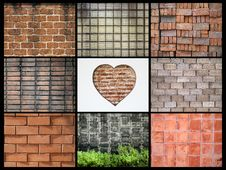 Free Various Walls Stock Photography - 18240912
