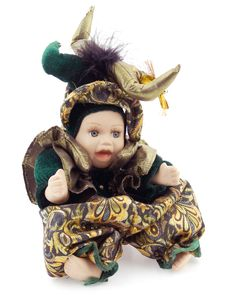Free Carnival Porcelain Doll Stock Photography - 18241442