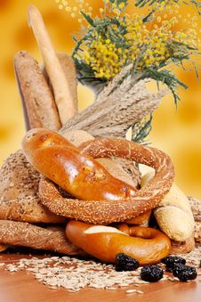 Fresh Bakery Products Royalty Free Stock Photos