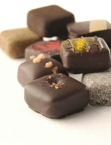 Free Chocolates Royalty Free Stock Photos - 18242408
