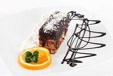 Free Chocolate Dessert Royalty Free Stock Photo - 18242625