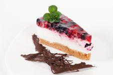 Free Fruit Cheesecake Stock Photo - 18243030