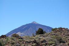 Free El Teide Royalty Free Stock Image - 18243176