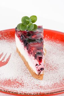 Free Fruit Cheesecake Royalty Free Stock Images - 18243289