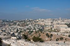 Free Jerusalem View Royalty Free Stock Image - 18243566