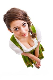 Free Bavarian Girl Royalty Free Stock Photo - 18243955