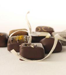 Free Chocolates Royalty Free Stock Image - 18244126