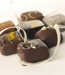 Free Chocolates Royalty Free Stock Photos - 18244138