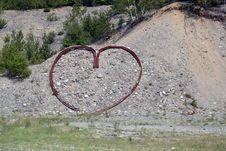 Free Heart On Hillside Stock Photo - 18244770