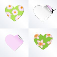 Free Hearts In Different Kinds Stock Photo - 18244810