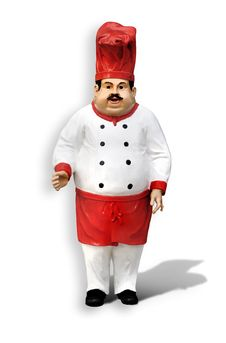 Free Chef Statue Stock Image - 18244821