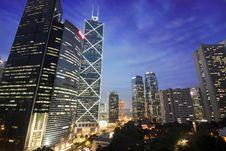 Free Hong Kong Night Scene Stock Images - 18244964