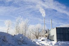 Free Winter Industrial Snow Royalty Free Stock Photography - 18244987