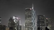 Free Hong Kong Night View Stock Images - 18245004
