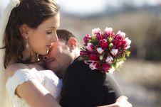 Free Loving Bride And Groom Stock Photos - 18245133