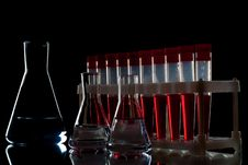 Lab Equipment. Royalty Free Stock Photography