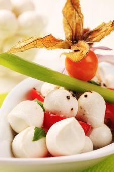 Free Caprese Salad Stock Photography - 18245762