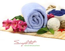 Free SPA Background. Shallow DOF Royalty Free Stock Images - 18246109