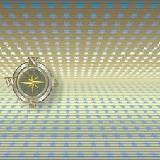 Abstract Background With Compass Stock Photos