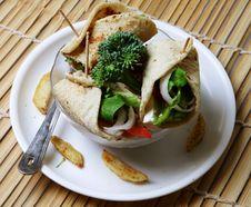 Free Cheese Kathi Rolls Starter Stock Photos - 18248423