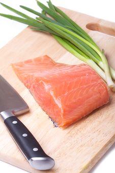 Free Salmon Pieces Stock Photos - 18248903