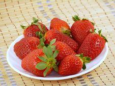 Free Appetizing Large Strawberry Royalty Free Stock Photography - 18248917