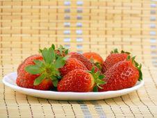 Free Appetizing Large Strawberry Royalty Free Stock Photos - 18248938
